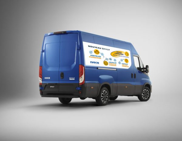 Iveco – Stickers Gamme Daily