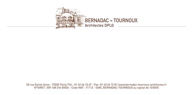 BERNADAC – Cabinet d'architectes – Papèterie
